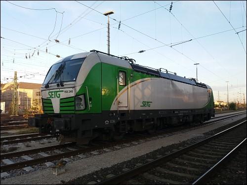 Lok 193 240 der Salzburger EisenbahnTransportLogistik GmbH