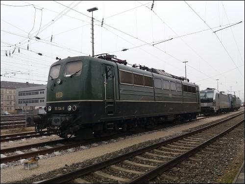 Lok 151 124-5 der SRI Rail Invest GmbH
