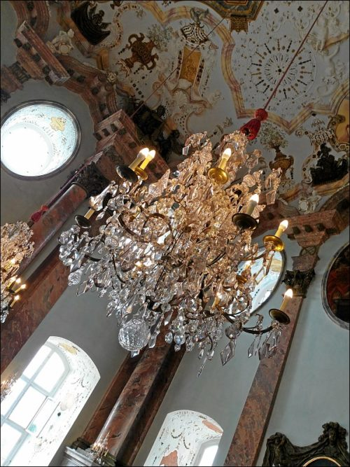 Alle Jahre wieder: Konzertbesuch in Schloß Weißenstein zu Pommersfelden im Rahmen der Internationalen Sommerakademie des »Collegium Musicum«