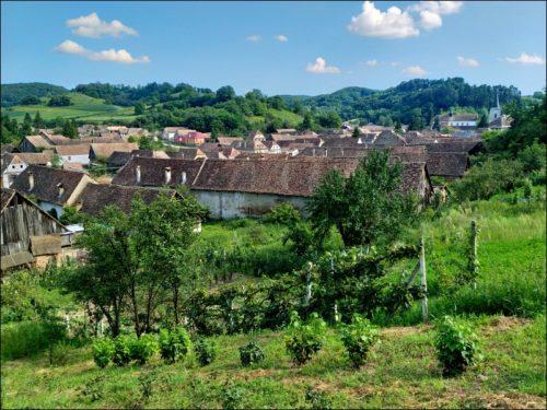 Richiș (Reichesdorf) im Kreis Sibiu (Hermannstadt) / Gemeinde Biertan (Birthälm)