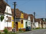 Typische Häuser der Siebenbürger Sachsen
