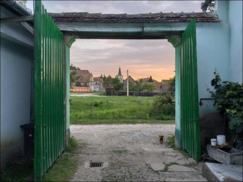 Abendstimmung in Richiș