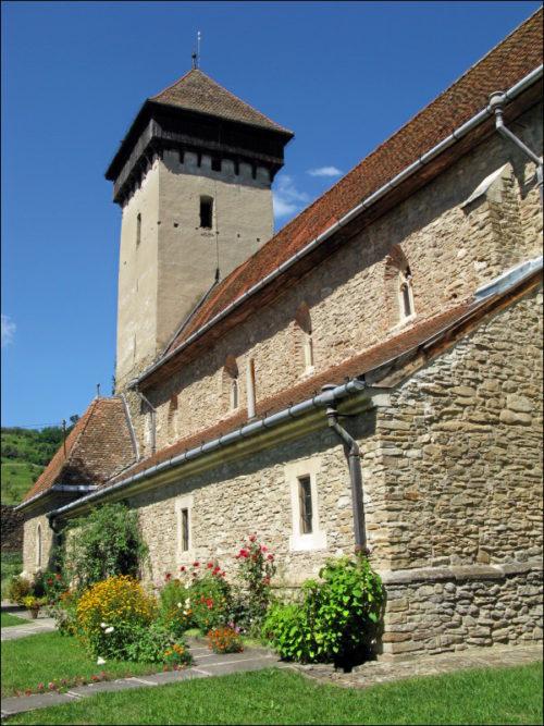 Evangelische romanische Kirche von Mălâncrav (Malmkrog)