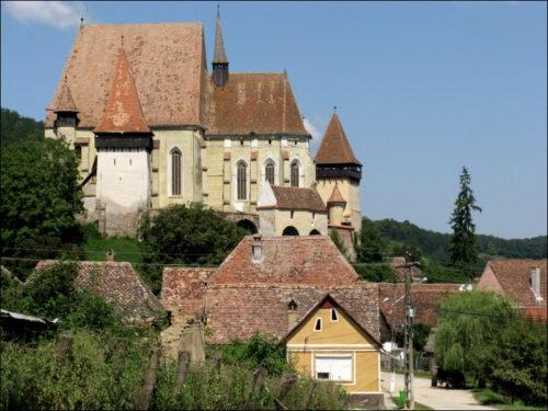Die Kirchenburg von Biertan (Birthälm)