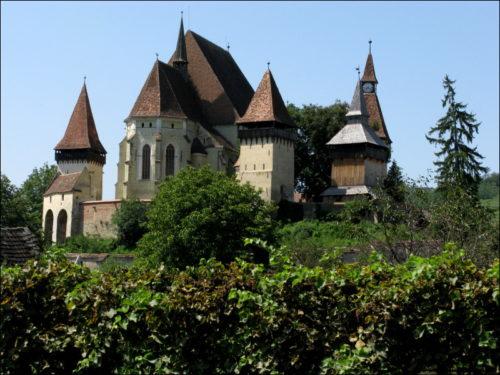 Von jeder Seite ansehnlich: Die Kirchenburg zu Biertan (Birthälm)