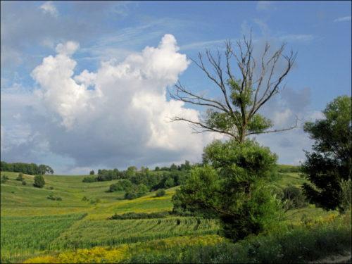 Italienisch anmutende Landschaft in Rumänien