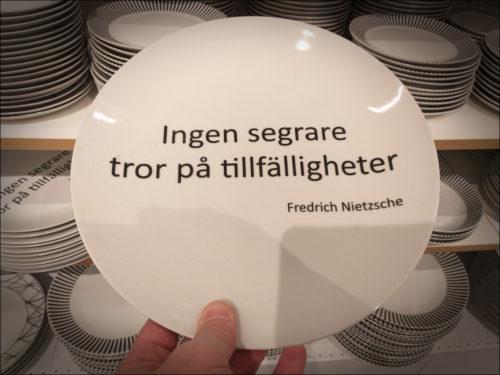 Philosophenteller, schwedische Art