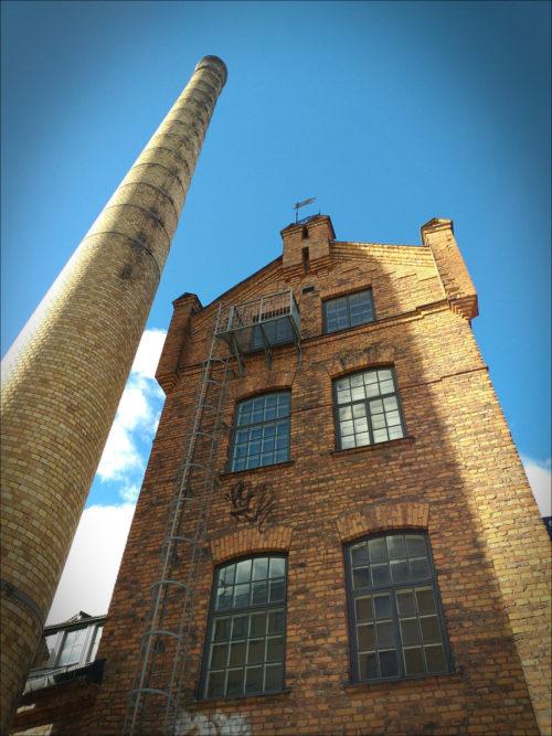 Restaurierte Industriearchitektur in Norrköping / Südschweden