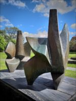 Eric Grate (1896-1983): Aklejaderna (Bronze, 1959/60) - Konstmuseum Norrköping