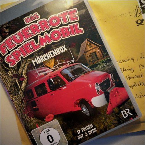 DVD-Edition »Das feuerrote Spielmobil - Märchenbox«