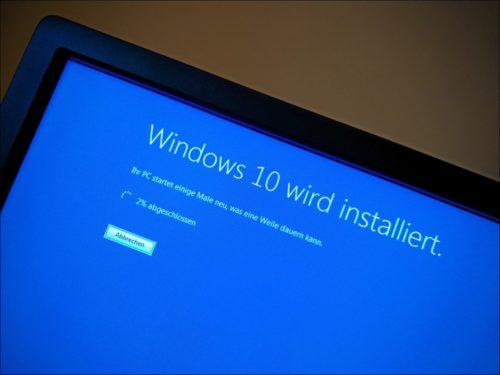 Bangen und warten: Upgrade von Windows 7 zu Windows 10
