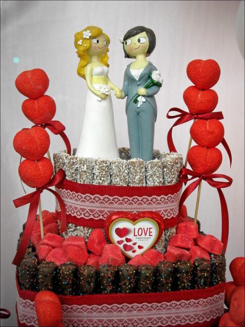 Hochzeits-»Torte« aus Valencia