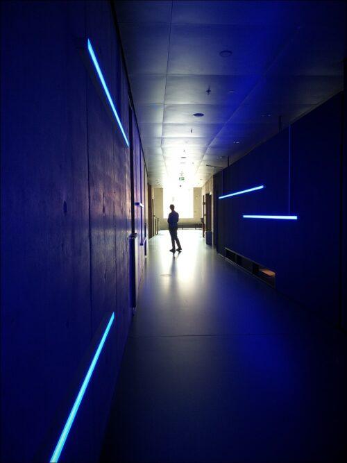 Durchblick tut not im frisch eröffneten Zukunftsmuseum am Nürnberger Augustinerhof